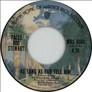 Click here for more info about 'Rod Stewart - As Long As You Tell Him'