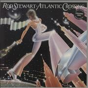 Click here for more info about 'Rod Stewart - Atlantic Crossing - Blue Vinyl - VG'