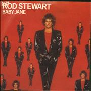 "Rod Stewart Baby Jane + Sleeve UK 7"" vinyl"