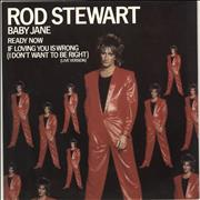 Click here for more info about 'Rod Stewart - Baby Jane'