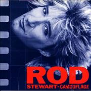 Rod Stewart Camouflage Germany vinyl LP