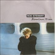 "Rod Stewart Downtown Train UK 7"" vinyl"