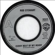 "Rod Stewart Every Beat Of My Heart - Jukebox UK 7"" vinyl"