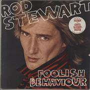 Click here for more info about 'Rod Stewart - Foolish Behaviour - Hype-stickered - EX'