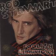 Click here for more info about 'Rod Stewart - Foolish Behaviour - Promo Stamped'