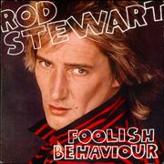 Rod Stewart Foolish Behaviour Germany vinyl LP