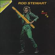 Rod Stewart Hot Rods UK vinyl LP
