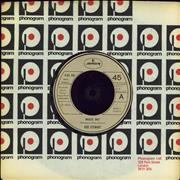 Click here for more info about 'Rod Stewart - Maggie May - beige injection label'