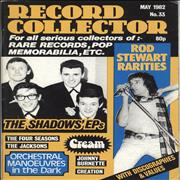 Click here for more info about 'Rod Stewart - Record Collector - May 1982'