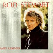 "Rod Stewart Sweet Surrender UK 7"" vinyl"