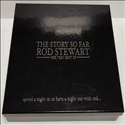 Rod Stewart The Story So Far: The Very Best Of UK cd album box set Promo