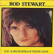 Rod Stewart UK & European Tour 1976 UK tour programme