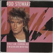 "Rod Stewart What Am I Gonna Do - Solid P/S UK 7"" vinyl"