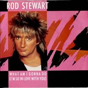 Click here for more info about 'Rod Stewart - What Am I Gonna Do (I'm So In Love With You) - P/S'