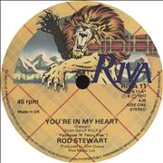"Rod Stewart You're In My Heart - Solid UK 7"" vinyl"
