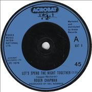 Click here for more info about 'Roger Chapman - Let's Spend The Night Together'