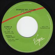 Click here for more info about 'Roger Daltrey - Despues Del Fuego - After The Fire'