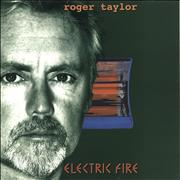 Click here for more info about 'Roger Taylor - Electric Fire - Orange Vinyl'