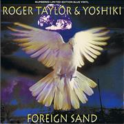 Click here for more info about 'Roger Taylor - Foreign Sand - Blue Vinyl'