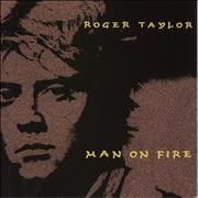 Click here for more info about 'Roger Taylor - Man On Fire - Inj'