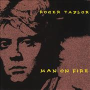 Click here for more info about 'Roger Taylor - Man On Fire - EX'