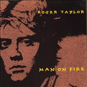 Click here for more info about 'Roger Taylor - Man On Fire'