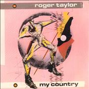 Click here for more info about 'Roger Taylor - My Country - EX'