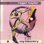 Click here for more info about 'Roger Taylor - My Country - No A-Side Label'