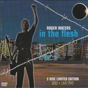 Roger Waters In The Flesh - Sealed UK 3-disc CD/DVD Set