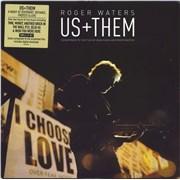 Roger Waters Us + Them - EX UK 3-LP vinyl set