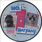 """Roland Rat No. 1 Ratfan UK 7"""" picture disc"""