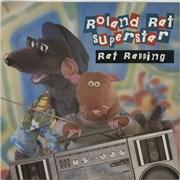 "Roland Rat Rat Rapping UK 12"" vinyl"