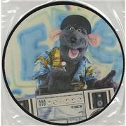 "Roland Rat Rat Rapping UK 7"" picture disc"