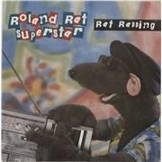 "Roland Rat Rat Rapping UK 7"" vinyl"