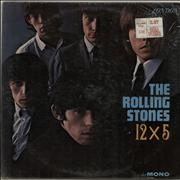 ROLLING STONES Music Discography Of Rare Vinyl Record LP