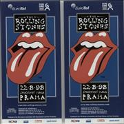 Click here for more info about 'Rolling Stones - Bridges To Babylon Tour Flyers 1998 - Pair Of'