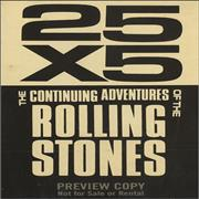 Click here for more info about 'Rolling Stones - 25 X 5 The Continuing Adventures Of The Rolling Stones'