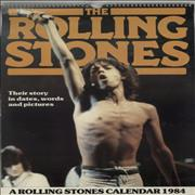 Click here for more info about 'Rolling Stones - A Rolling Stones Calendar 1984'