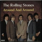 Click here for more info about 'Around And Around - red Decca label'