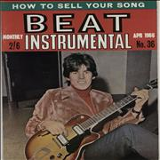 Rolling Stones Beat Instrumental Monthly No. 36 UK magazine