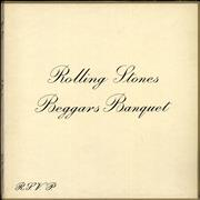 Click here for more info about 'Rolling Stones - Beggars Banquet - 1st - EX'