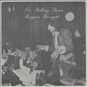 Click here for more info about 'Beggars Banquet Flexi Disc'