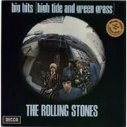 Rolling Stones Big Hits [High Tide And Green Grass  - Orange Vinyl Netherlands vinyl LP