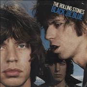 Click here for more info about 'Rolling Stones - Black And Blue - Blue Vinyl - EX'