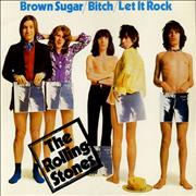 Click here for more info about 'Rolling Stones - Brown Sugar - Solid - P/S'