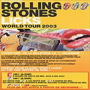Click here for more info about 'Rolling Stones - Deja Disponible Rolling Stones Licks World Tour 2003'