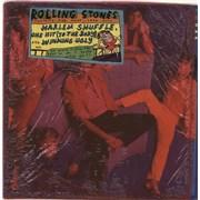 Rolling Stones Dirty Work - Opened Coloured Shrink UK vinyl LP