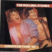 Click here for more info about 'Rolling Stones - European Tour 1982 + cuttings'