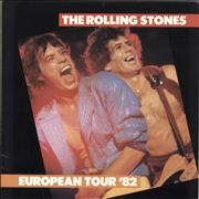 Click here for more info about 'European Tour '82 + Ticket Stub'
