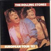Click here for more info about 'Rolling Stones - European Tour '82 + Sticker'